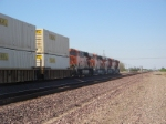 BNSF ES44C4's Northbound